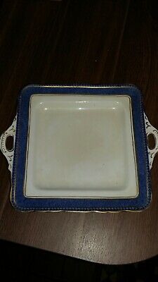 Sutherland China Art Deco Square Sandwich Plate • 15£