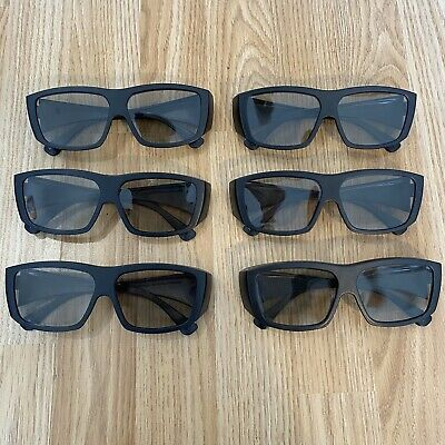 6 Genuine IMAX 3D Glasses Lot - Great Condition • 9.99£