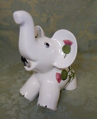 Vintage Plichta Wemyss Scottish Thistle  Design Elephant • 19.99£