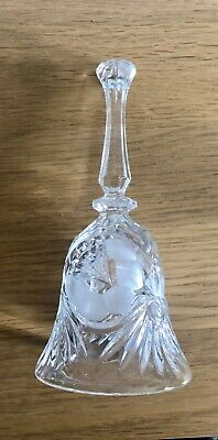 Lead Crystal Hand Bell 7  Tall • 19.99£