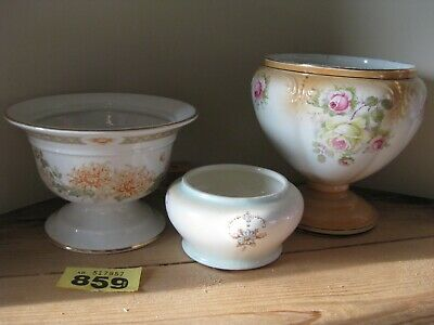 Vintage Collection Rose Bowls Grimwades M&S Chrysanthemum Ross No Frogs • 14.99£