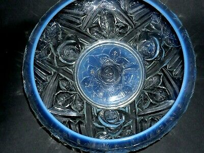 Very Beautiful Old Art Deco Opalescent Glass Bowl - Sabino Lalique Interest L@@k • 0.99£