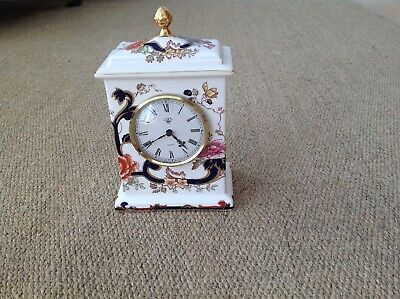 Masons Blue Mandalay Clock • 15£