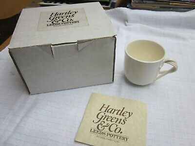 Hartley & Green's Leeds Pottery Coffee Cup • 20£