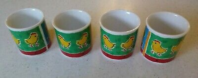 Rare DUNOON FARMYARD Egg Cups Only Displayed  • 25£