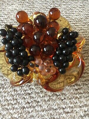 Murano Glass Bowl With Grapes  • 30£