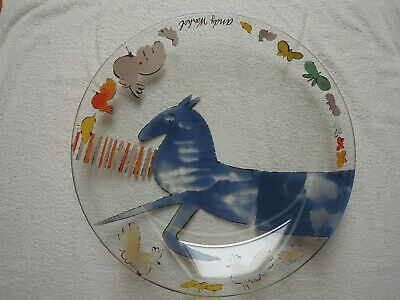 Andy Warhol ~  Blue Horse  ~ Large Charger Platter / Dish / Bowl • 250£