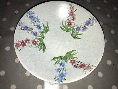 Radford Pottery - Handpainted  Large Dish Pretty Floral Design 11  Diameter • 21£