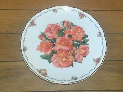 Royal Albert  Elizabeth Of Glamis  Plate With Certificate • 7£