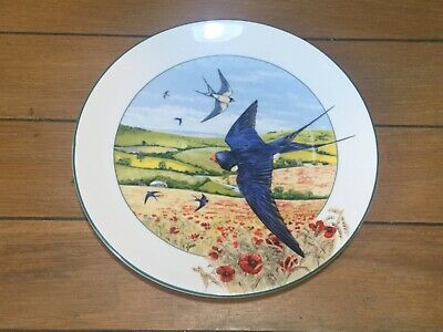 Royal Doulton  The Field Swallow  Plate With Certificate • 5£