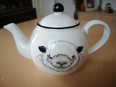 Arthur Wood Vintage 1 Pint Teapot Sheep Front And Back. • 8.50£