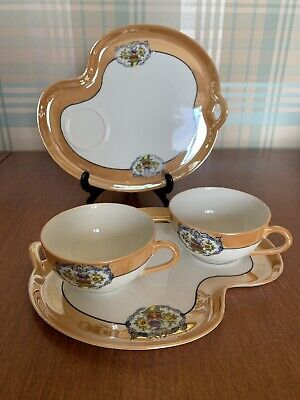 Noritake Hand Painted Large Plate And Saucer ( TV Set) And Cup • 14.99£