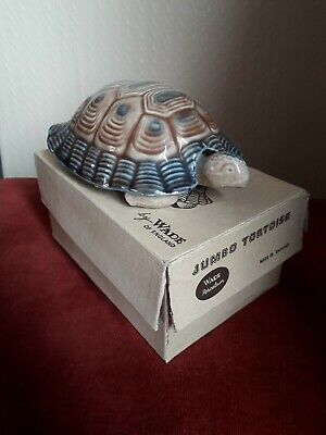 Wade Jumbo Tortoise Porcelain. With Box • 45£
