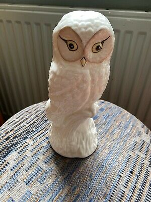 Irish Parian Donegal Ware Owl  • 25£