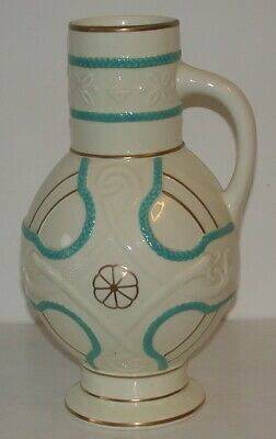 Antique  Oriental Ivory  Pottery Water Ewer, Retail. F. PRIMAVESI, S.Wales. • 14£