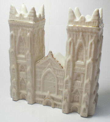 A 'Carlton China' Crested 'West Front York Cathedral' C.1900 • 4.20£