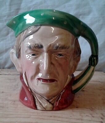 LARGE VINTAGE BESWICK SCROOGE CHARACTER TOBY JUG No.372  • 15£