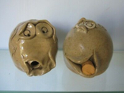 Pretty Ugly Pottery Salt And Pepper • 6.99£
