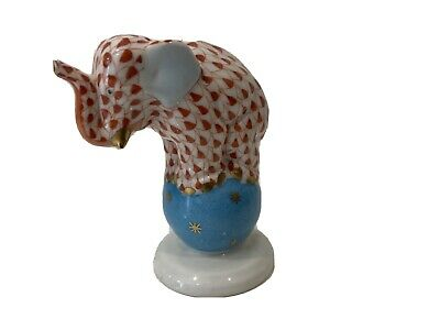 Herend Rust Circus Elephant • 50£