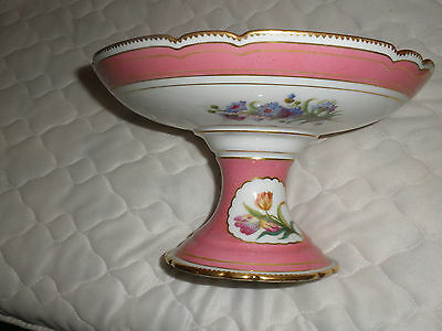 China Raised Bowl In Top Cond With Beautiful Handpainted Decoration • 25£
