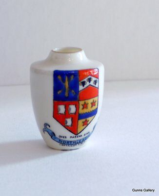 Carlton China Ancient Arms Of Northleach • 3£