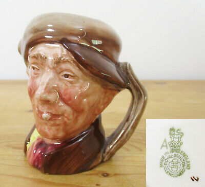 Royal Doulton 9cm/3.5  Tall Character Jug - 'Arry' - D6235 • 1.50£