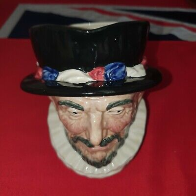 Vintage Royal Doulton Large Character Toby Jug - Beefeater Tower Of London 1946 • 19.99£