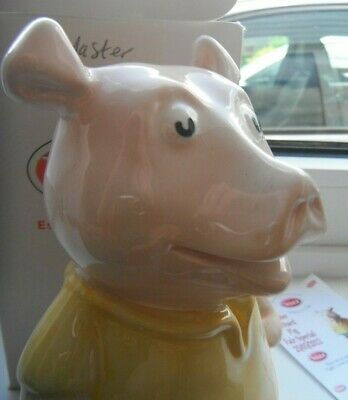 Wade NATWEST Cousin Pig RICHARD Money Box Piggy Bank Limited Edition Paul CARDEW • 100£