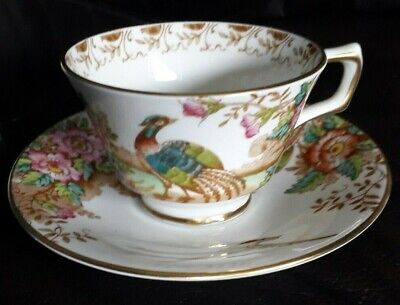 Sutherland  Exotic  Cup And Saucer. • 10£