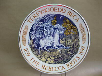 Rebecca Riots 1839 - 1989 ~ Fine Bone China Commemorative Plate  • 14.99£