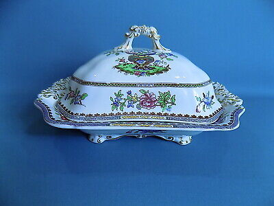 Copeland Late Spode Old Bow Vegetable Tureen With Lid • 32£