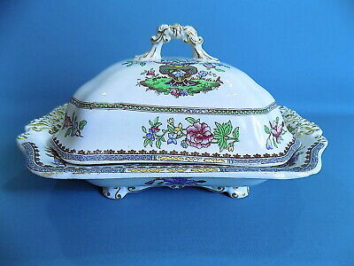 Copeland Late Spode Old Bow Vegetable Tureen With Lid • 25£