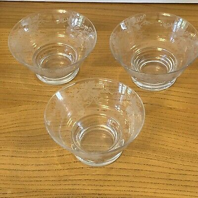 Beautiful Vintage Stuart Crystal Glassware Etched With Grapes And Vine • 18£