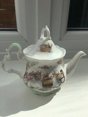 Royal Doulton Brambly Hedge Teapot 1985 Tea Service Jill Barkham Made In Eng • 34.95£