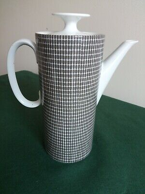 Vintage Rosenthal Thomas Onyx Grey Coffee Pot • 45£