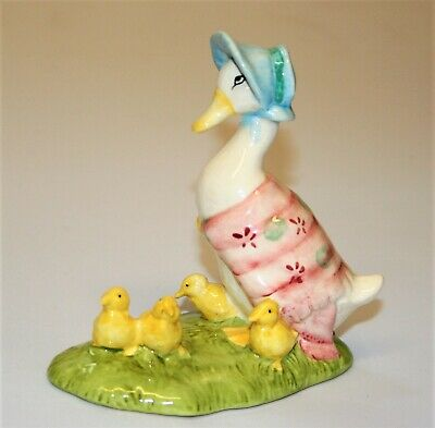 Beswick Royal Doulton Jemima And Her Ducklings Beatrix Potter Figurine 1998 • 29£