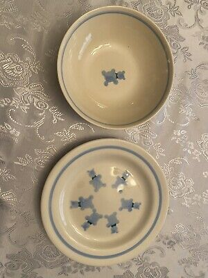 Ceramic Child's Plate And Bowl Set! • 7.69£