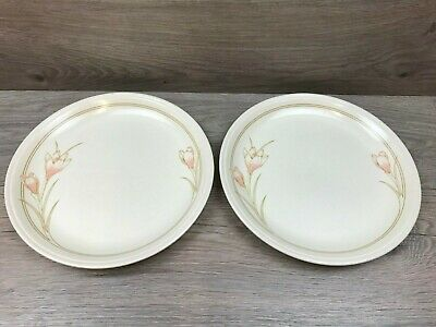 2 X Vintage Biltons Coloroll Spring Bouquet 9  Salad / Small Dinner Plates • 7.99£