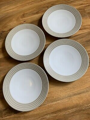 Denby Intro Sand Stripe Side Plates Tableware  • 7.99£