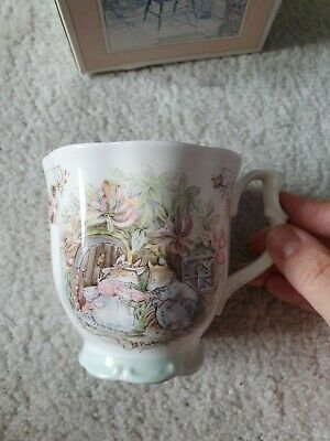 Royal Doulton Brambly Hedge Summer Beaker Boxed • 7£