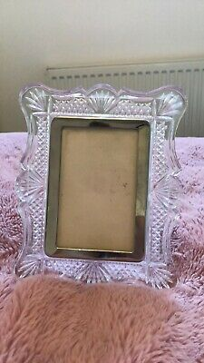 Waterford Crystal Photo Frame 3.5x5inch • 28£