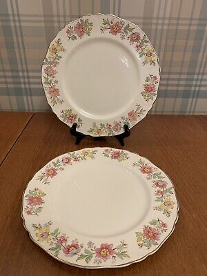 Vintage Alfred Meakin England Chelsea Dinner Plates X 2 • 9.99£