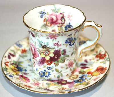 Hammersley Coffee Can / Cup & Saucer • 28£