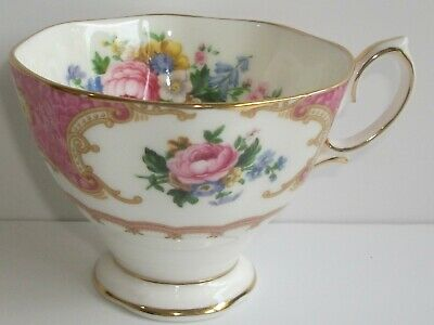 X1 Royal Albert Tea Cup (only) Decorated In The Lady Carlyle Pattern.2nd • 4.99£
