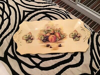 Ansley Orchard Gold Sandwich Tray • 3.20£