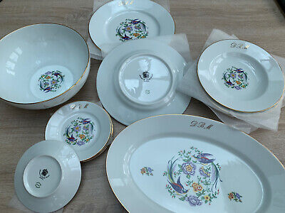 Porcelaines De Limoges Reunies Tableware • 10.99£