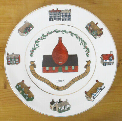 Goss Collectors Annual Plate 1982 - Limited Edition - 27cm/10.5  - VGC • 2.50£