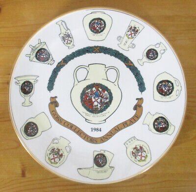 Goss Collectors Annual Plate 1984 - Limited Edition - 27cm/10.5  - VGC • 2.50£