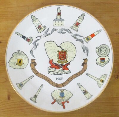 Goss Collectors Annual Plate 1985 - Limited Edition - 27cm/10.5  - VGC • 2.50£