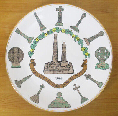Goss Collectors Annual Plate 1986 - Limited Edition - 27cm/10.5  - VGC • 2.50£
